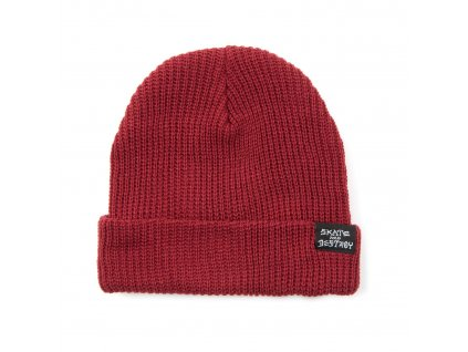 vyr 481thrasher skate goat and destroy beanie maroon red s322717ma 01 1431