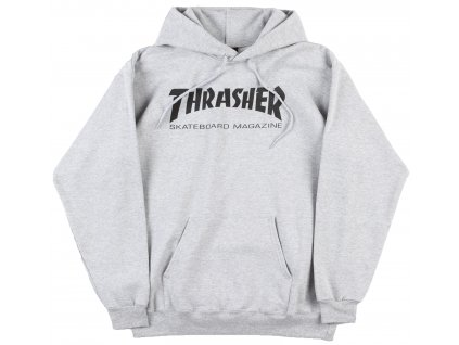 thrasher skate mag logo hooded sweatshirssst black1