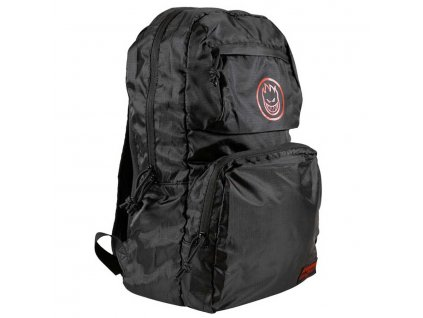 Spitfire BIGHEAD CIRCLE PACKABLE Backpack Black SIDEVIEW