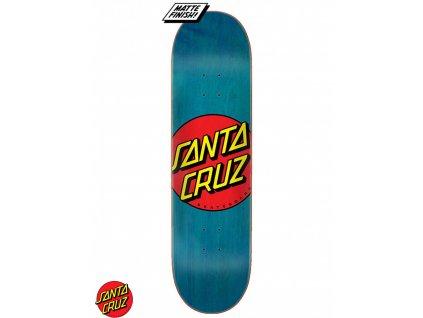 santa cruz classic dot 85 skateboard deck