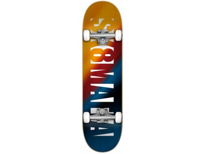 sk8mafia og logo blur 8 0 complete skateboardd