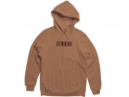 baker ribbon logo hoodie brown.1607903764