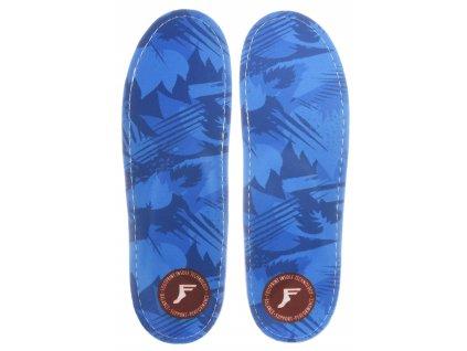 footprint insoles einlegesohlen king foam orthotics low blue camo vorderansicht 0249139
