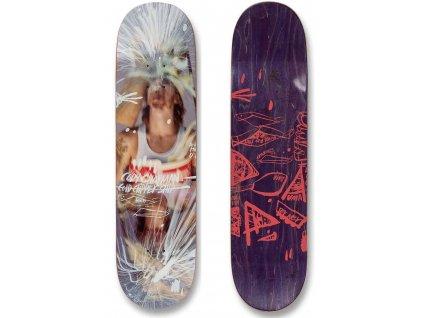 uma landsleds cody chapman taped up skateboard deck top bottom side