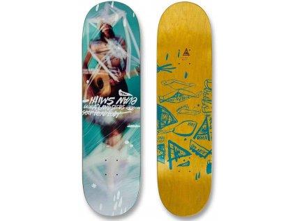 uma landsleds evan smith taped up skateboard deck top bottom side
