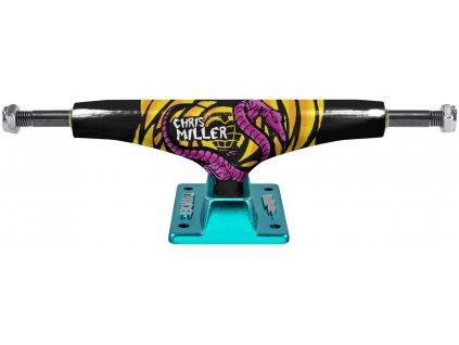 thunder miller lizard lights skateboard trucks black teal 149 hi