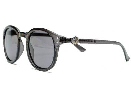 independent Solo Cross Sunglasses Transparent Black INA SUN 0131 1