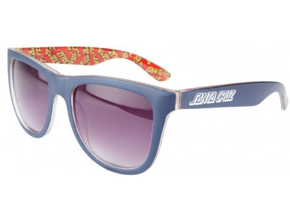 santa cruz mens sunglasses multi classic dot dark navy