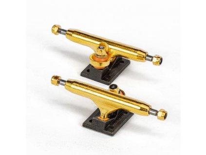 tempblackriver trucks gold black