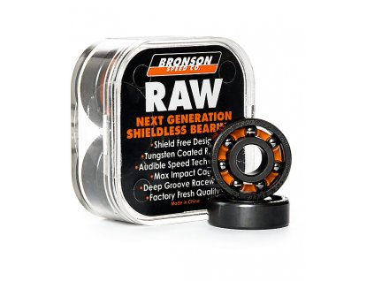 Bronson Raw Skateboard Bearings 278475 front US