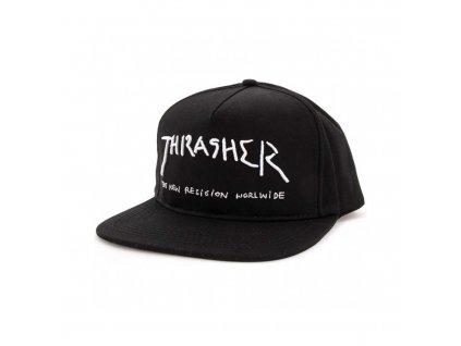 thrasher new religion snapback hat black f