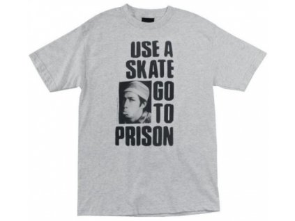 thrasher use a skate go to prison tshirt