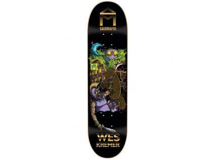 rd sk8mafia skateboards wes kremer 7 wonders deck