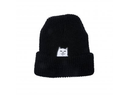 Lord Nermal Ripped Beanie Black 0001 KK2A1952