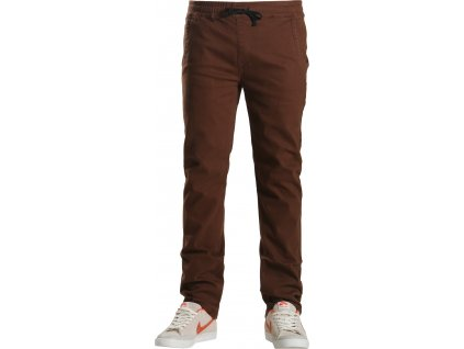 FOOTPRINT- Chinos Slim Fit Hnedé