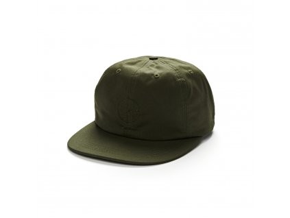 waxed cotton cap green 1