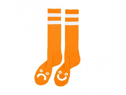 HAPPY SAD SOCKS ORANGE 1024x1024