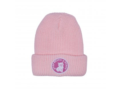 RIPNDIP - Stop Being A Pussy Beanie Pink