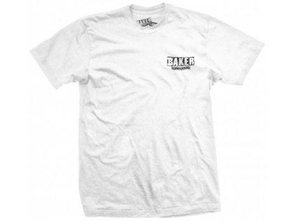 BAKER - brand logo dubs WHITE