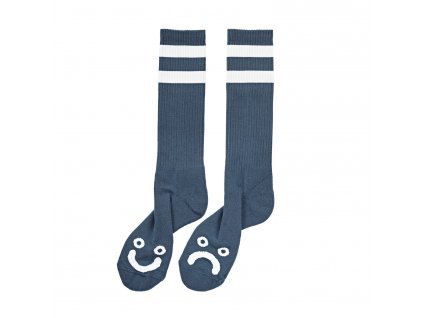 HAPPY SAD SOCKS CAPTAIN'S BLUE