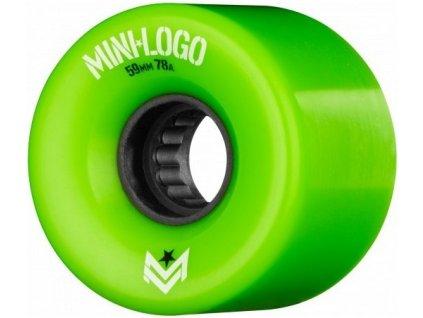 Mini Logo - A.W.O.L. A-cut Green 78A 59mm