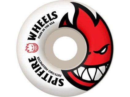 spitfire bighead skateboard wheels white red 52 99d