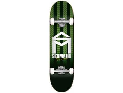 sk8mafia house logo stripe kremer 80 complete skateboard