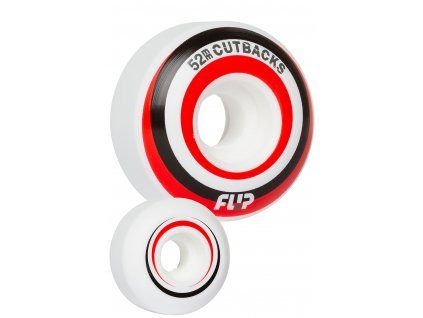 flip cutbacks 52mm red wheels back
