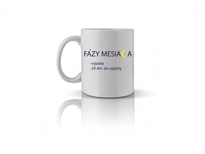 05 FÁZY MESIACA výplata, 29 dní do výplaty mug