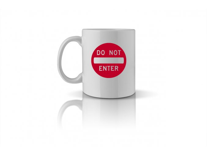 31 do not enter mug