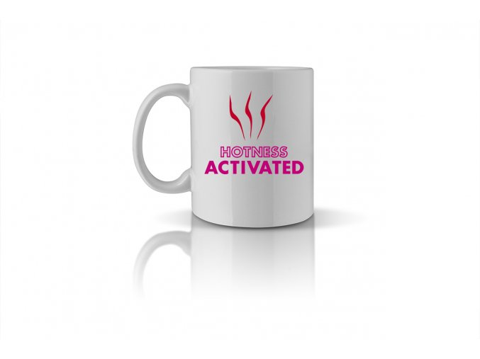 40 HOTNESS ACTIVATED mug