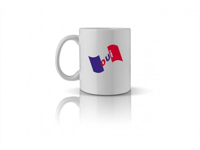 57 oui mug