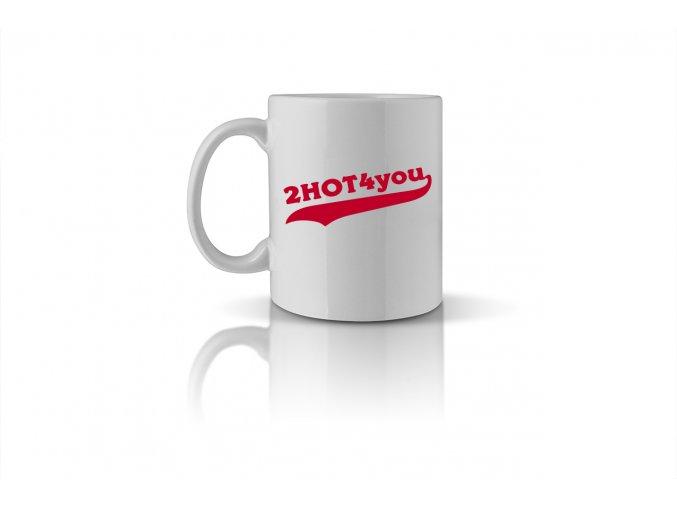 58 2HOT4you mug