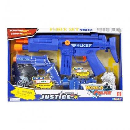 Policajná sada so zvukom