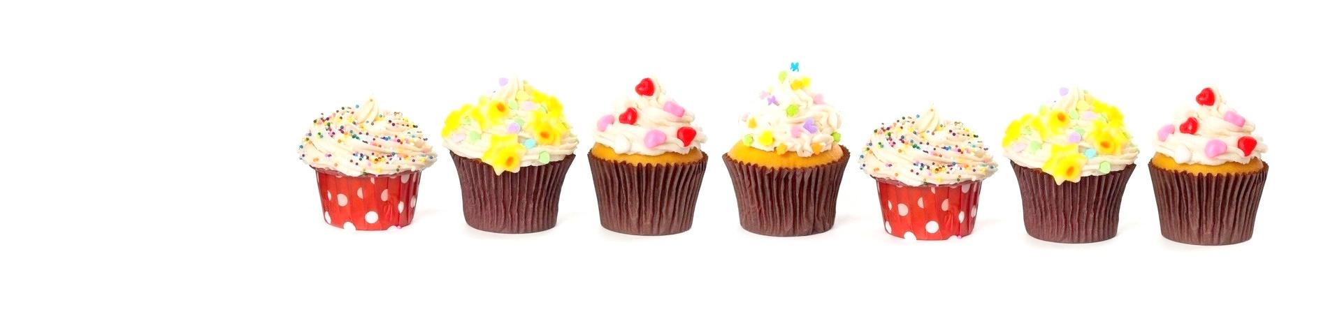 Sladké cupcakes