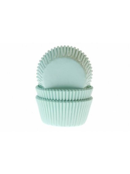 38187 cukrarske kosicky mint green 50ks house of marie