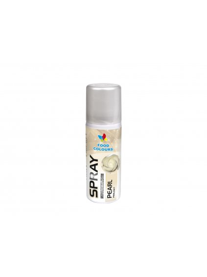 barva ve spreji food colours pearl 50 ml perletova1