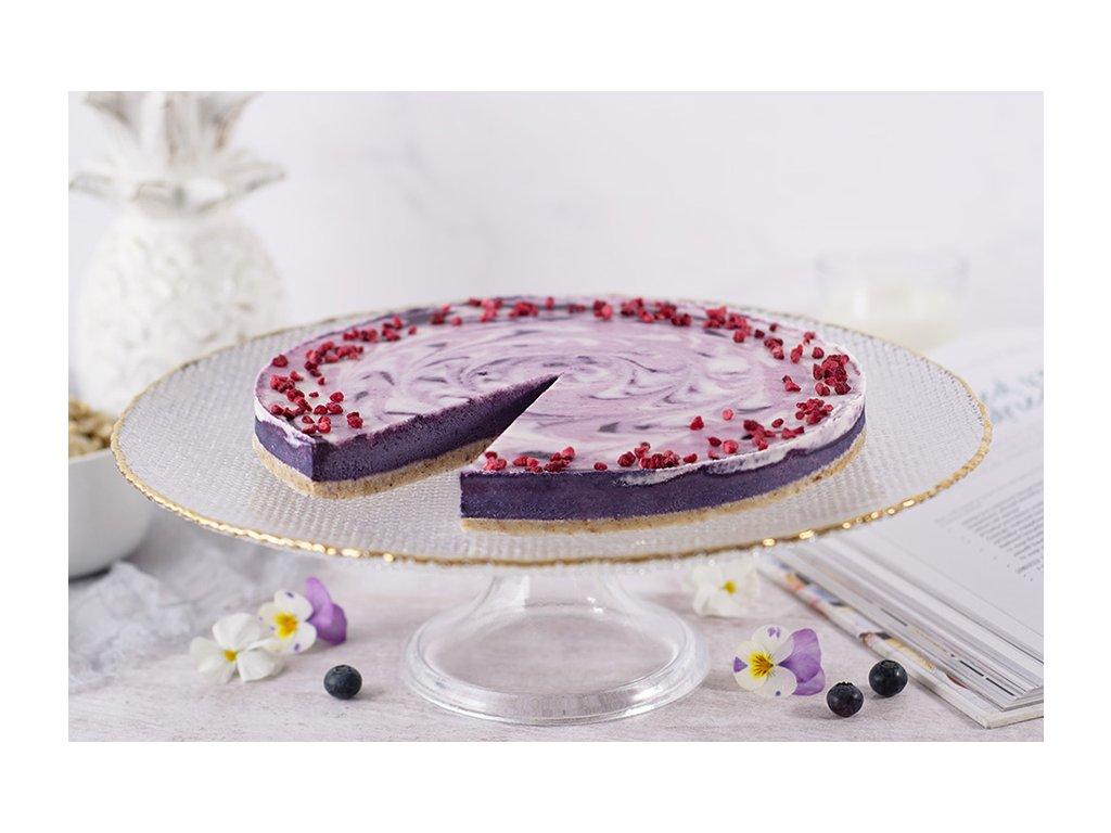 Raw čučoriedková torta Raw Blueberry Cake cukrari.sk