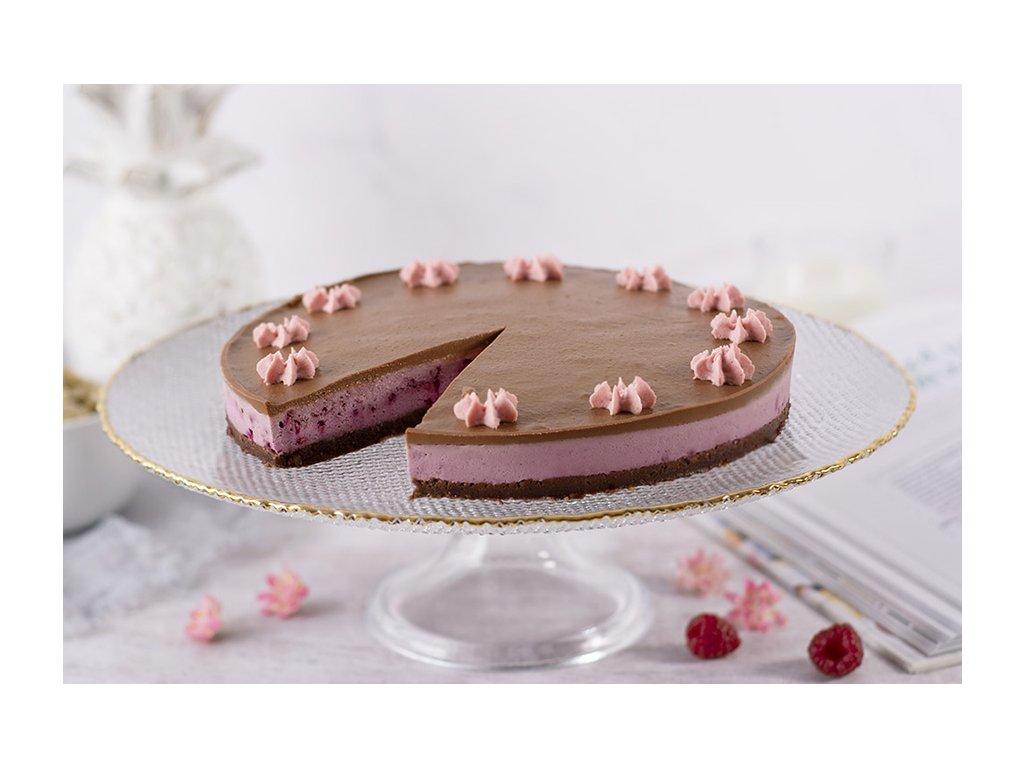 Raw malinová torta Raw Raspberry Cake cukrari.sk