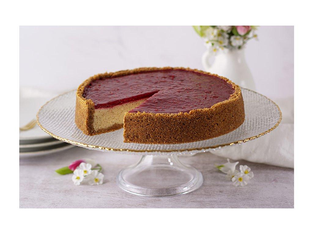 Malinový Cheesecake Raspberry Cheesecake