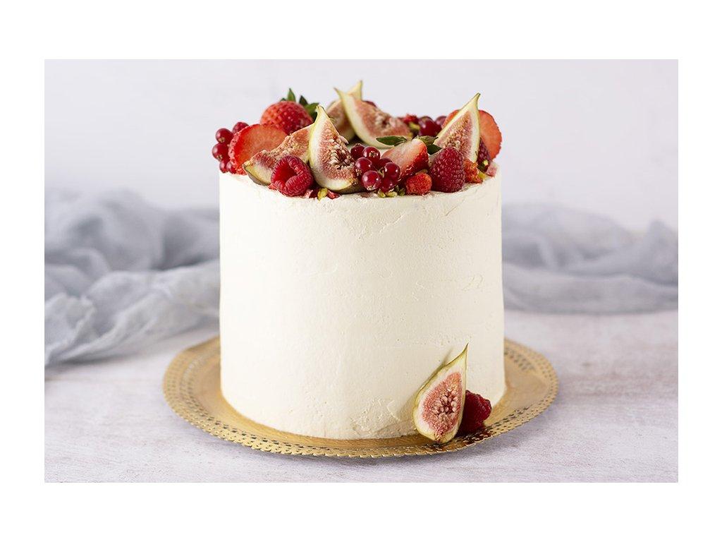 atyp čokoládovo ovocná torta 15cm cukrari.sk