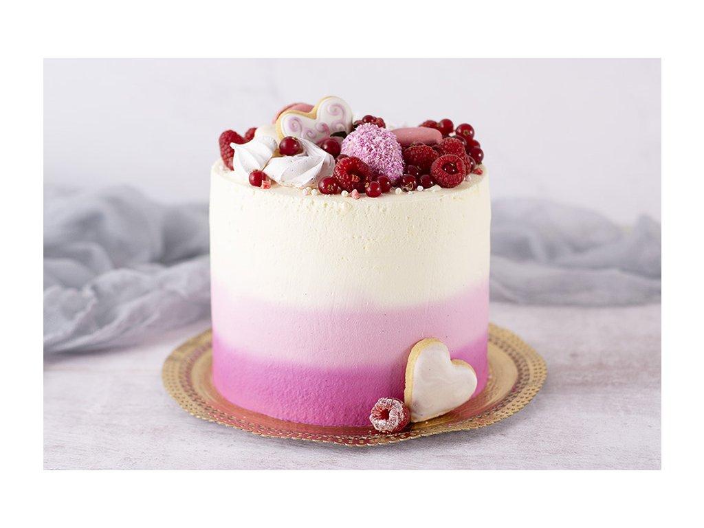 Pink ombre ružová ombré torta cukrari.sk