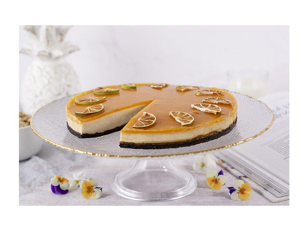 Vegan Apricot Cheesecake vegánsky marhulový cheesecake cukrari.sk