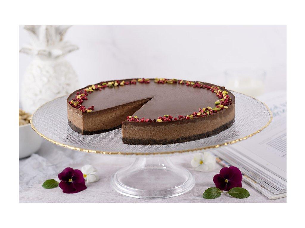 Vegan Chocolate Cheesecake vegánsky čokoládový cheesecake cukrari.sk