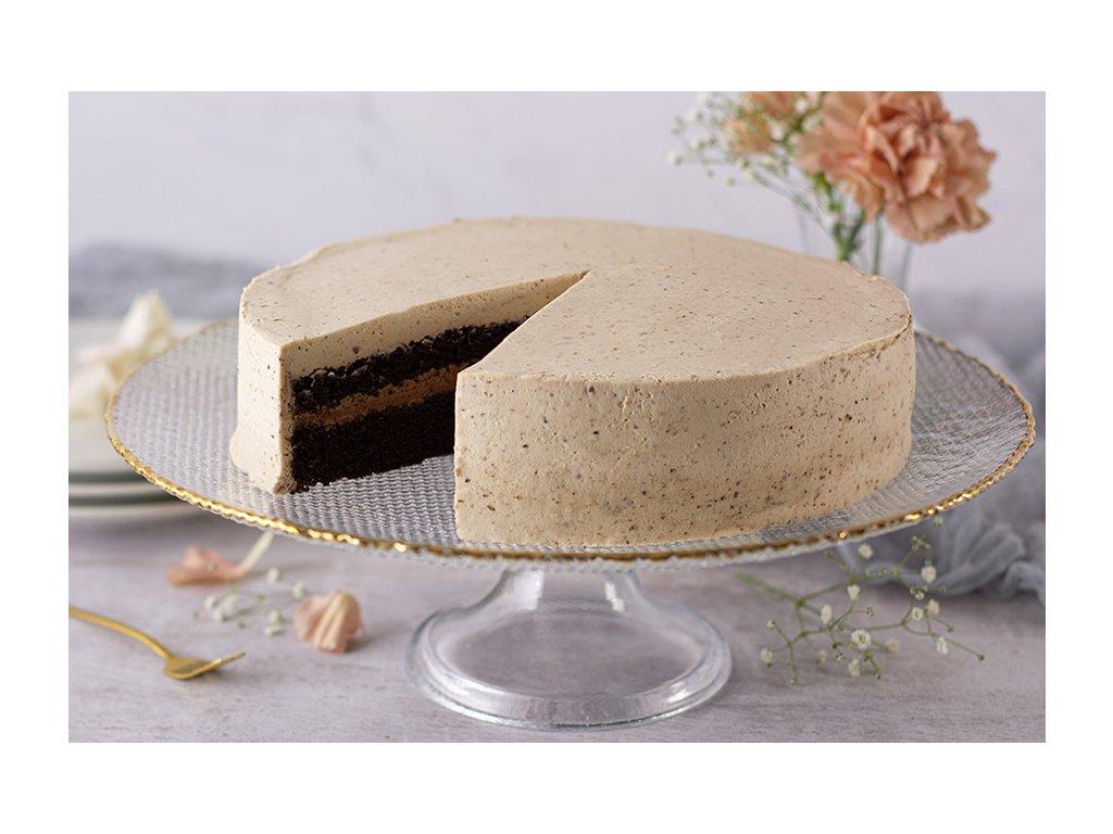Chestnut coffee cake Gastanovo kavova torta cukrari.sk