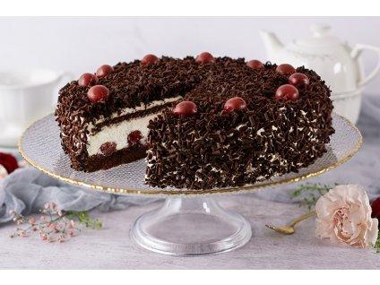 Višňovo čokoládová torta Black Forest Cake