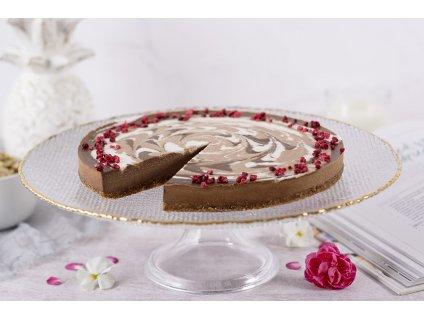 Raw nugátová torta Raw Nougat Cake cukrari.sk