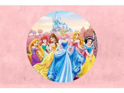 """Oblátka na tortu """"Princess"""""""