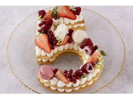 Number cake červen zdobenie cukrari.sk