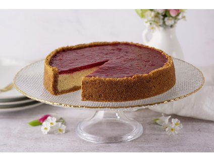 Malinový Cheesecake Raspberry Cheesecake